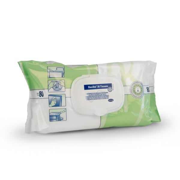 Bacillol Oberflächendesinfektion, 80 Tücher